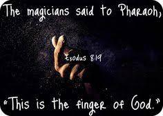 Exodus 8 finger of God