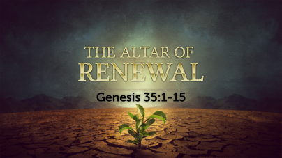 Genesis 35 altar of