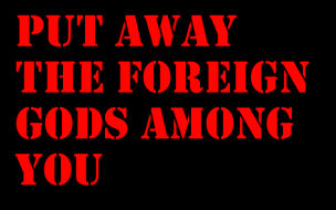 Genesis 35 foreign idols