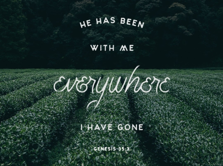 genesis 35 he is with me