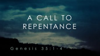 Genesis 35 repent