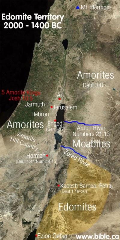 Genesis 36 edomites