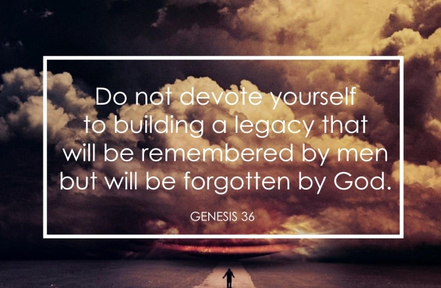 Genesis 36 God