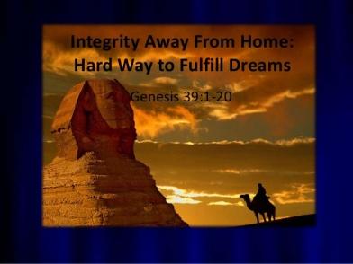 Genesis 39 dreams