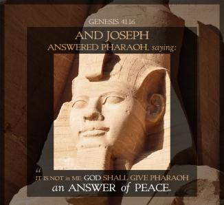 Genesis 41 peace