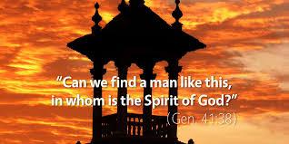 Genesis 41 Spirit of God
