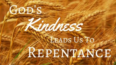 Genesis 42 kindness to repent