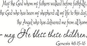 Genesis 48 blessing