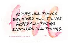 1 Corinthians 13 love endures