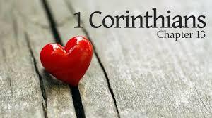 1 Corinthians 13 title