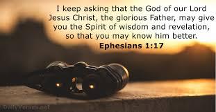Ephesians 1 17
