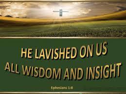 Ephesians 1 lavished