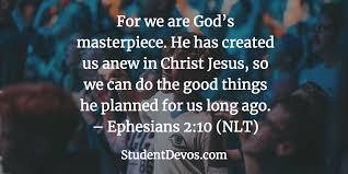 Ephesians 2 we are