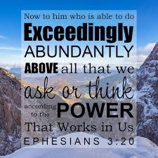 Ephesians 3 power