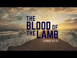 Exodus 12 blood of the Lamb