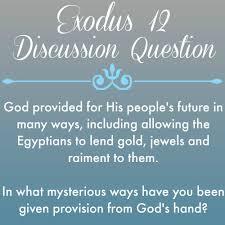 Exodus 12 provision