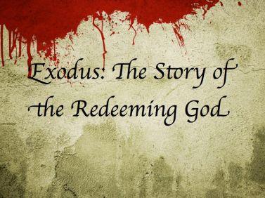 Exodus 13 redeeming God