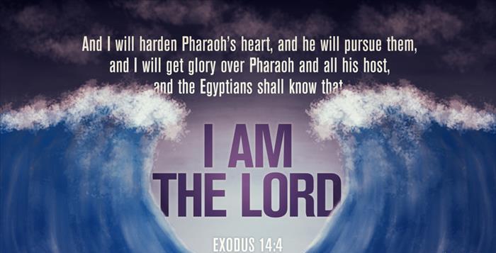 Exodus 14 I AM