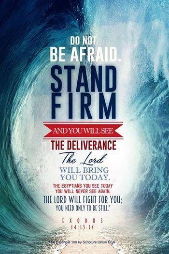 Exodus 14 no fear