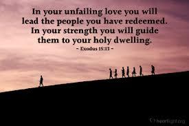 Exodus 15 love