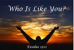 Exodus 15 who
