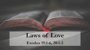 Exodus 20 laws of love