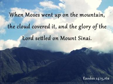 Exodus 24 1