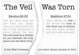 Exodus 26 the veil was torn