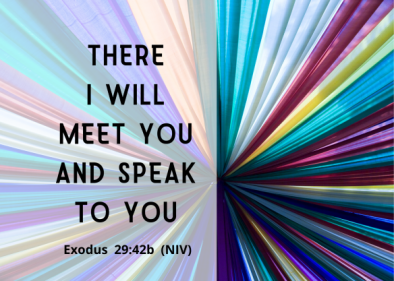 Exodus 29 there I will
