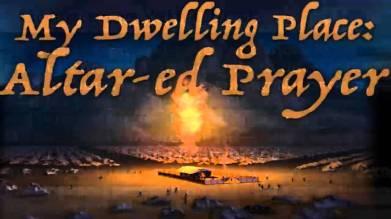 Exodus 30 altar of prayer