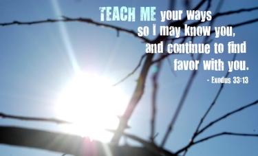 Exodus 30 teach me