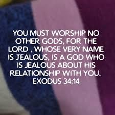 Exodus 34 14