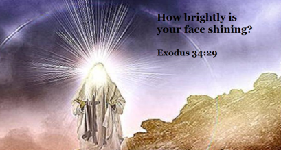 Exodus 34 been with God