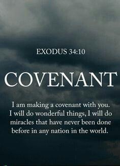 Exodus 34 covenant