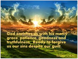 Exodus 34 God does