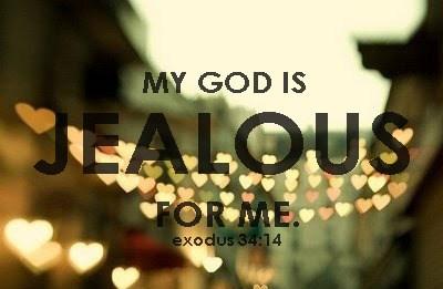 Exodus 34 jealous