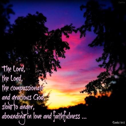 Exodus 34 the Lord