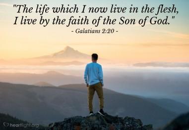 Galatians 2 20