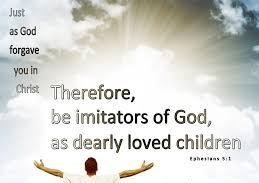 Galatians 2 be imitators of God