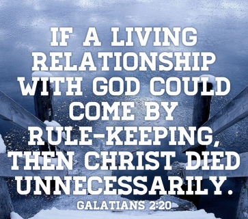 Galatians 2 Christ Died for us
