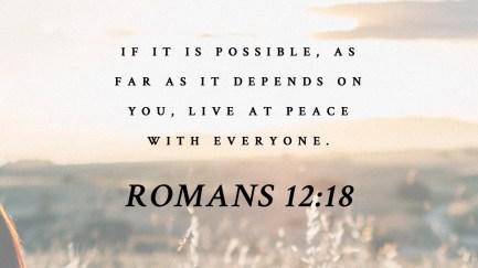 Romans 12 peace