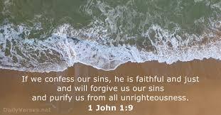 1 John 1 confess