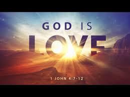 1 John 4 God is love forever