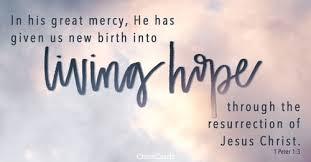 1 Peter 1 Living Hope