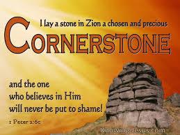 1 Peter 2 cornerstone