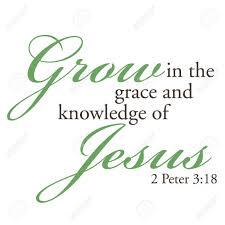 2 Peter 3 grow
