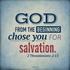 2 thess 2 God chose us