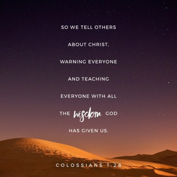 Colossians 1 28