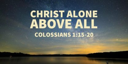 Colossians 1 Christ