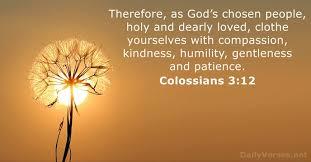 Colossians 3 clothe